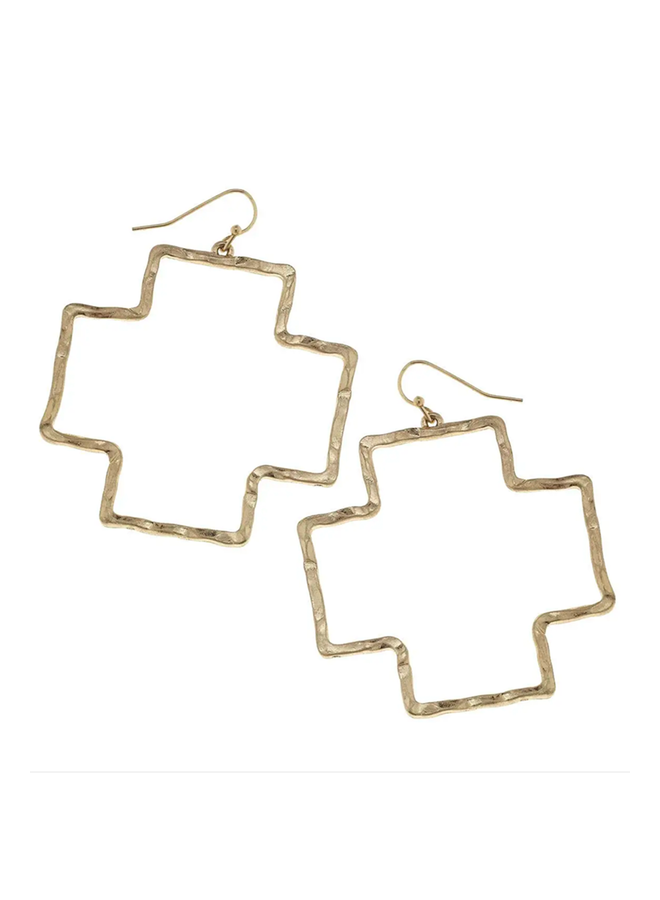 Hudson Earrings In Gold