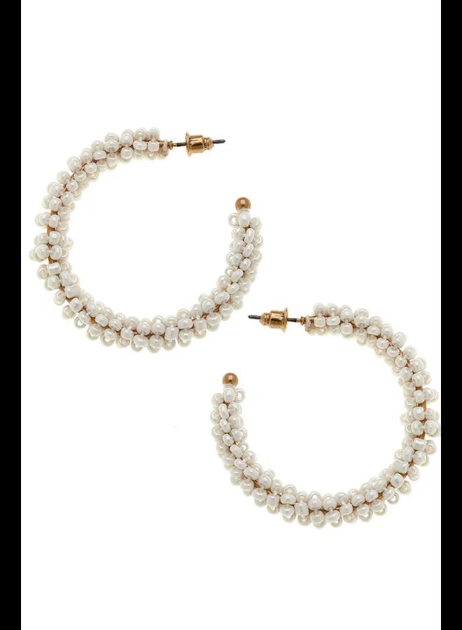 Roslyn Hoop Earrings