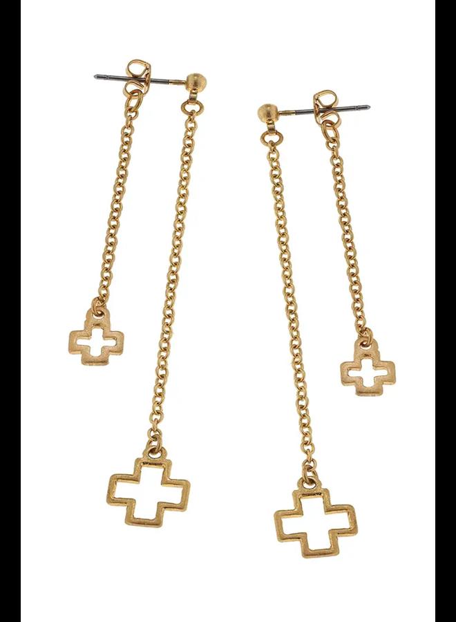 Hadley Cross Earrings