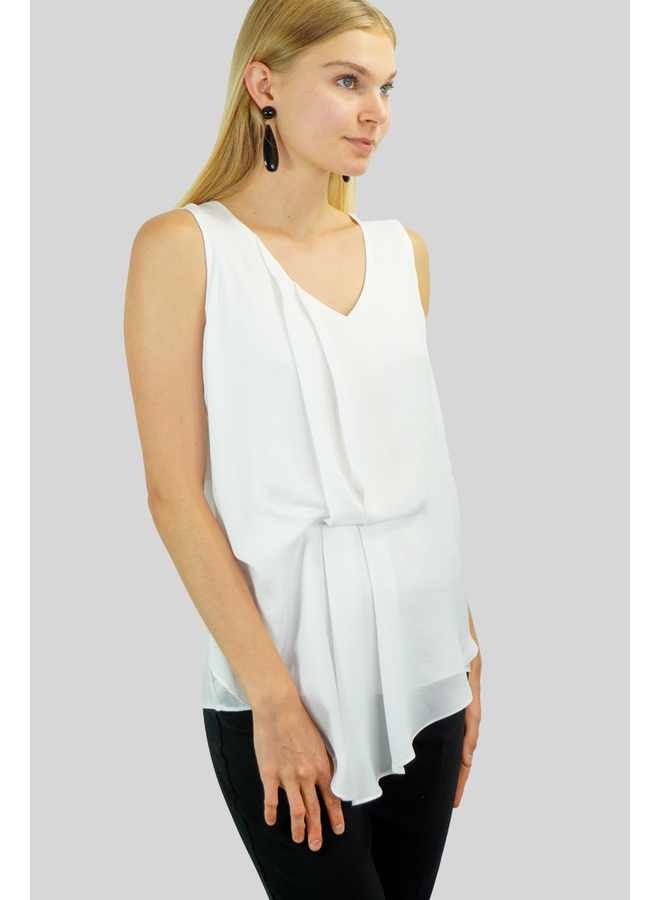 Renuar's Goddess Tank In Cream