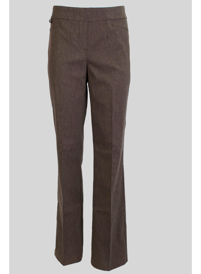 The Boot Leg Magic Pant In Heather Taupe