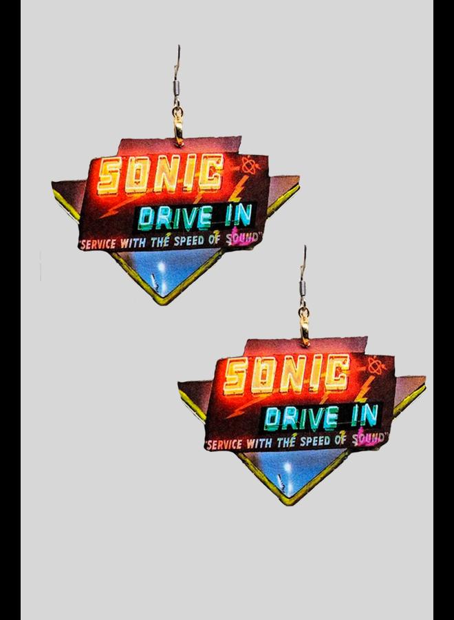 Sonic Drive In Earrings