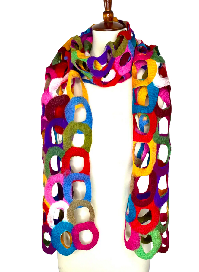 Ring Multi-Colored Scarf