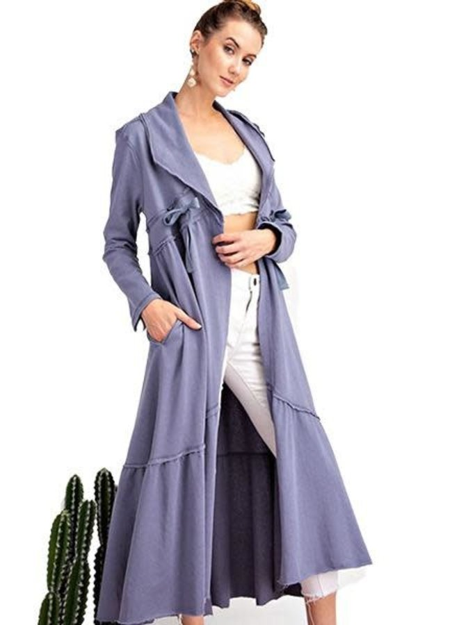 Florida Coat In French Blue