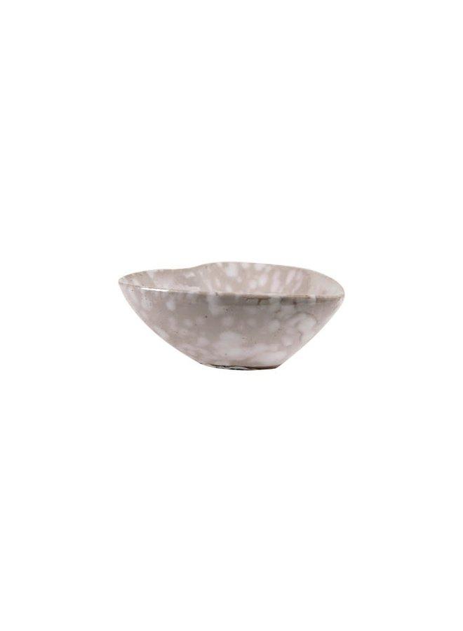 Stoneware Heart Dish