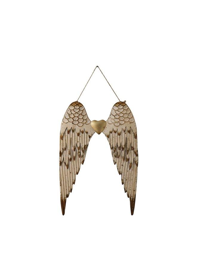 Embossed Angel Wings