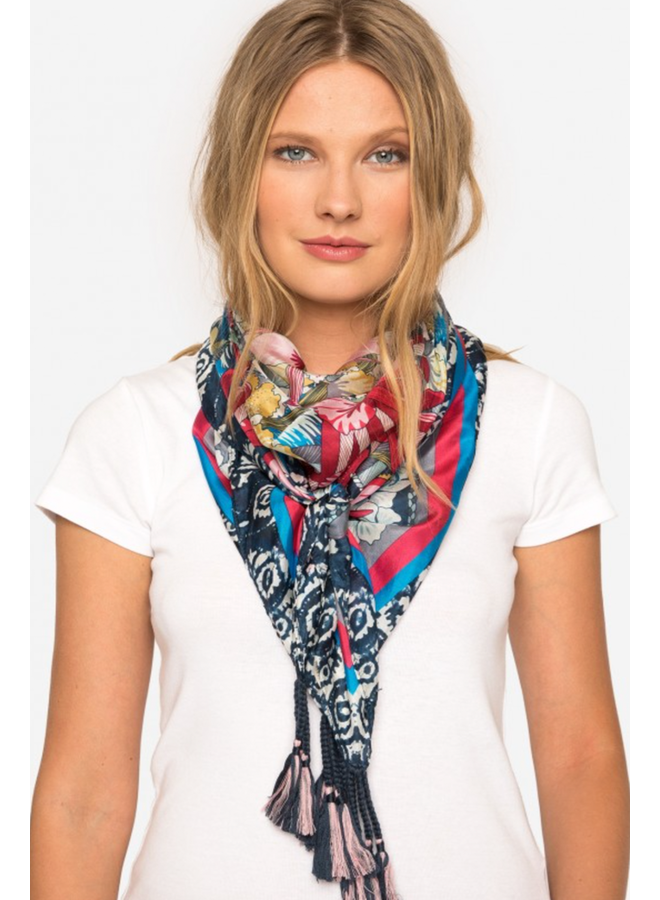 Johnny Was Silk Vacation Scarf