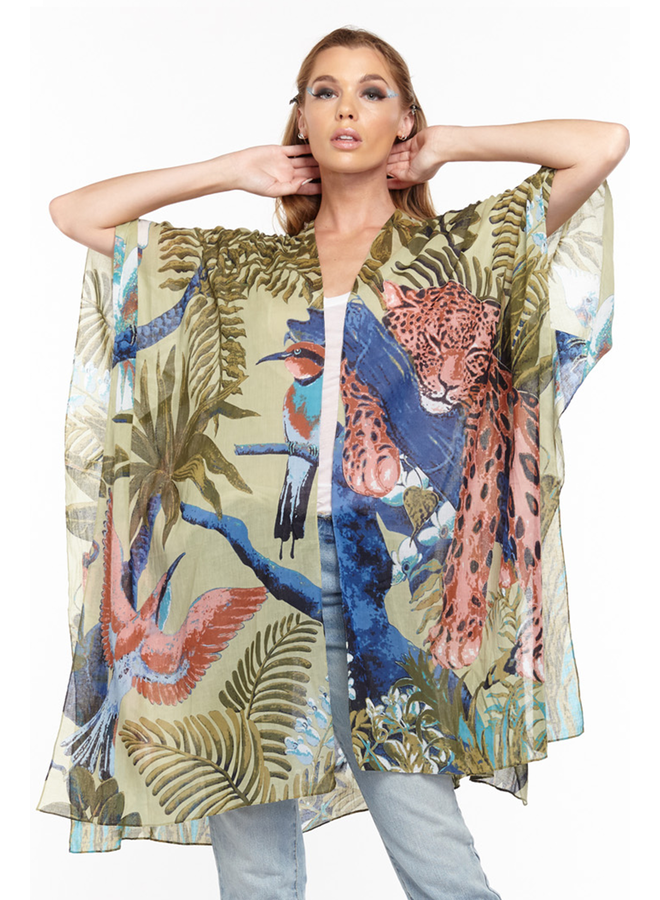 Aratta's Wild Nights Kimono