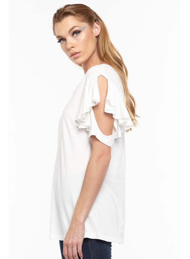 Aratta's Kelsey Tee Shirt In White