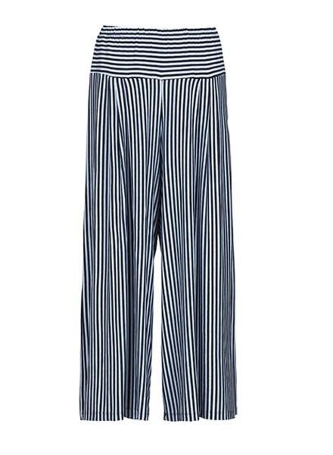 Alembika Resort Stripe Pant In Blues