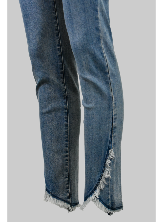French Dressing Tulip Ankle Jean