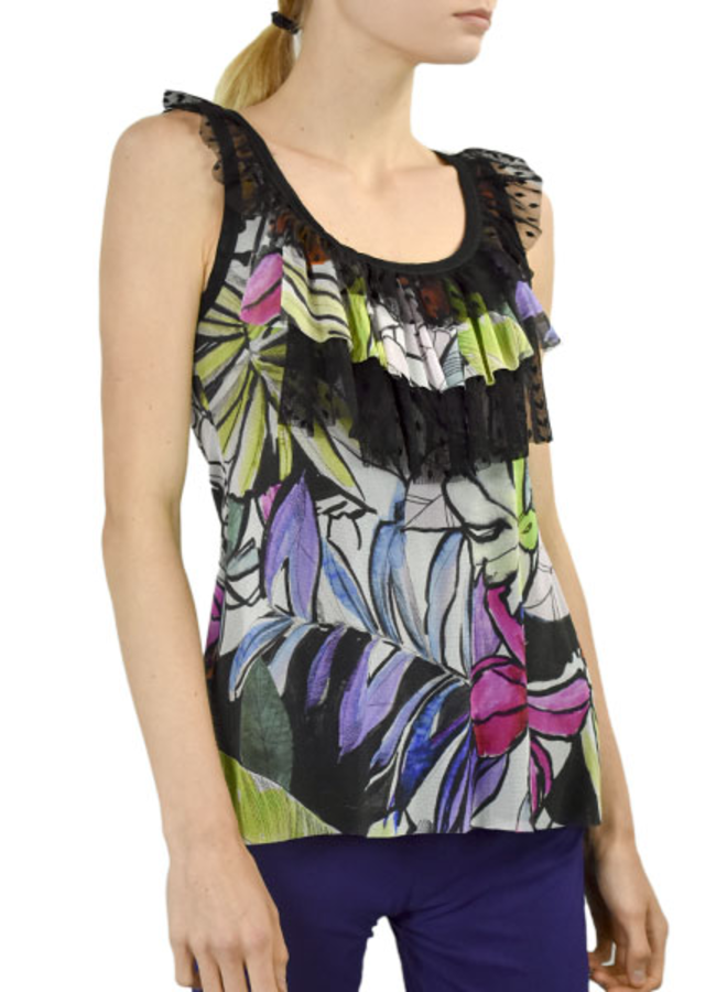 Petit Pois' Swing Ruffled Camisole From The Hamptons Collection