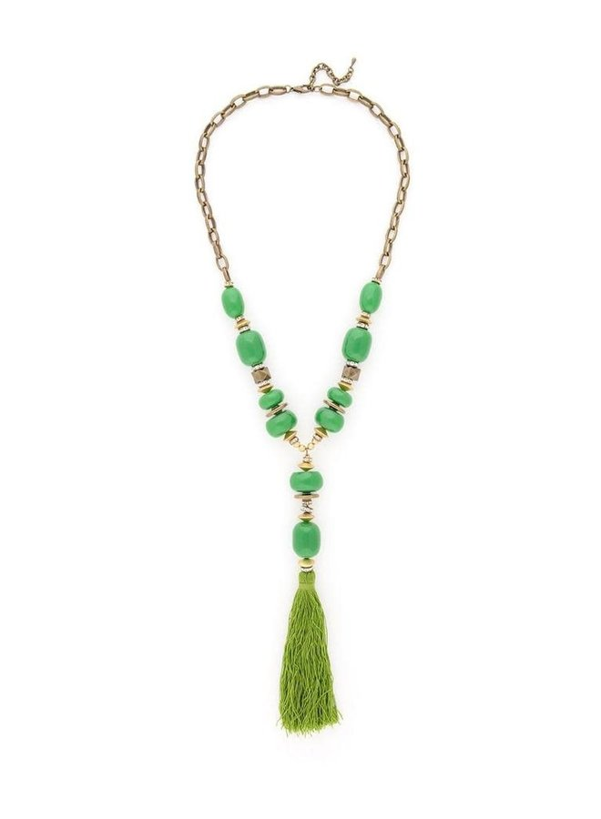 What Tassels Your Fancy Necklace