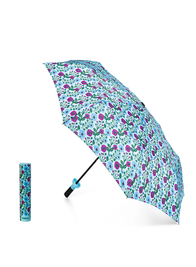 Vinrella Floral Fantasy Bottle Umbrella