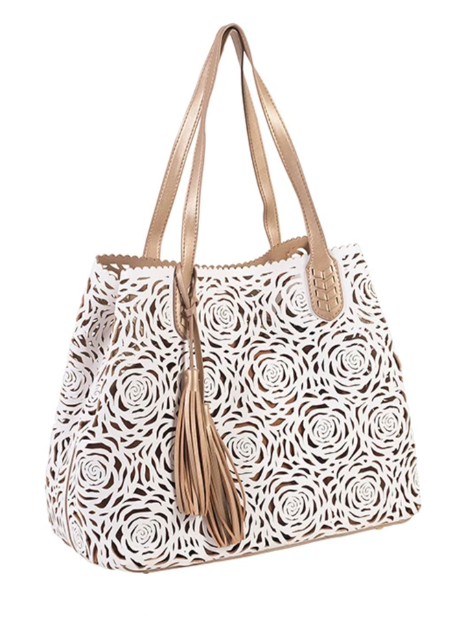 Bucco Reversible Flower Bomb Tote