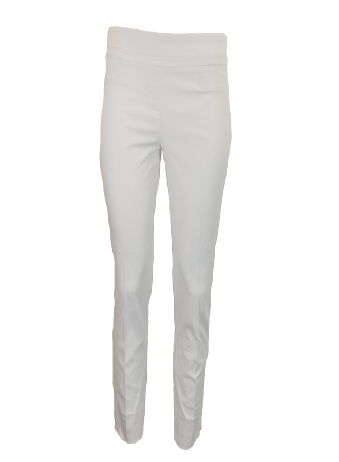 The Ankle Cigarette Magic Pant In White