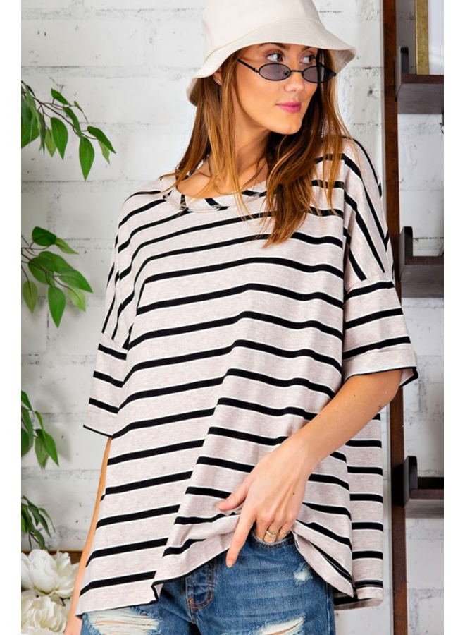 Striped Easy Tee