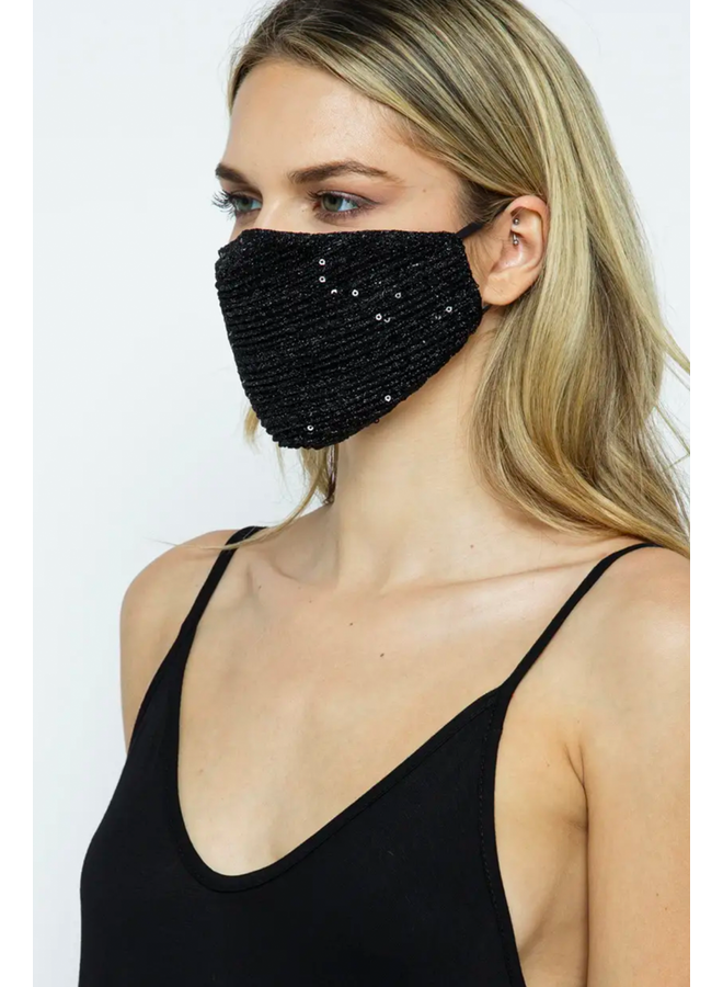 Sparkly Washable Face Mask