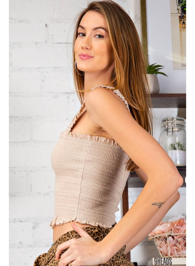 Smocked Cami Top