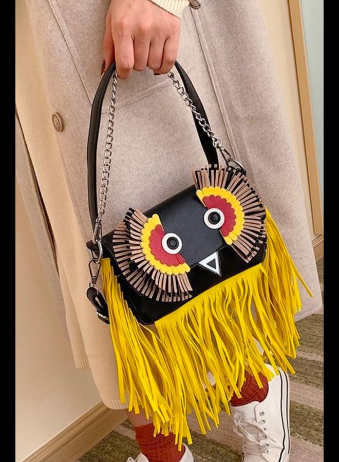 Tassel Owl Bag