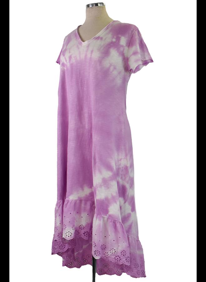 Ruffle Tie Dye Dress