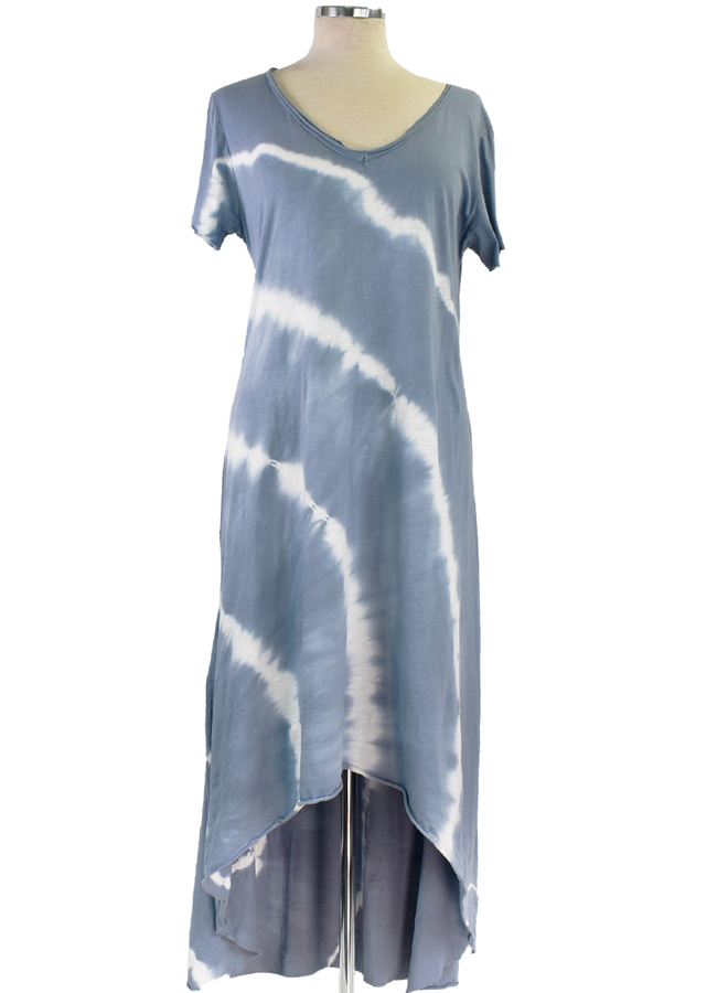 Sky Tie Dye Dress