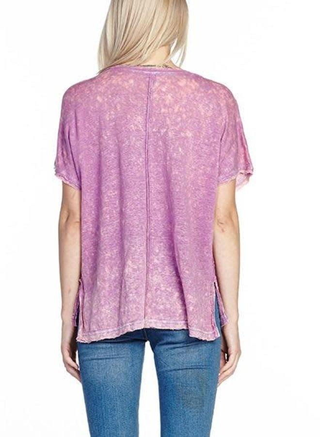 Arattta's Feelings Tee Shirt In Orchid Mist