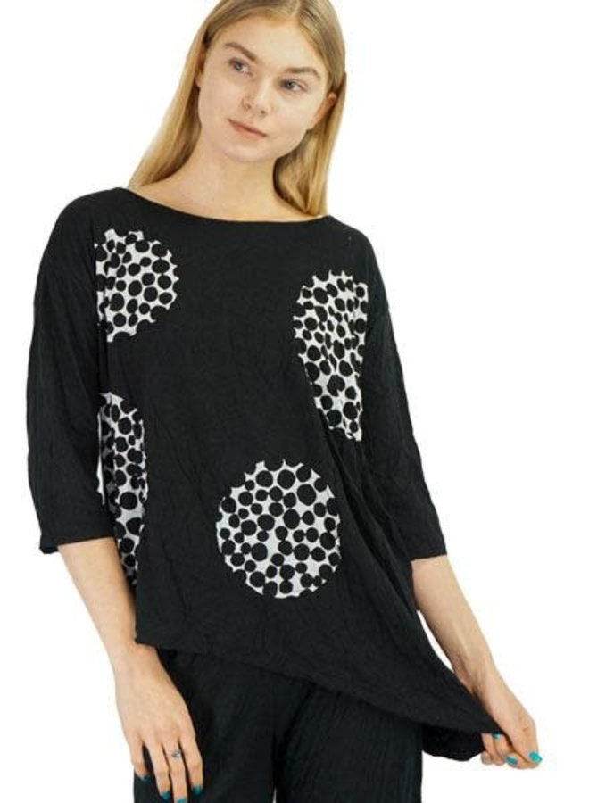 Chalet Monique Tunic In Black