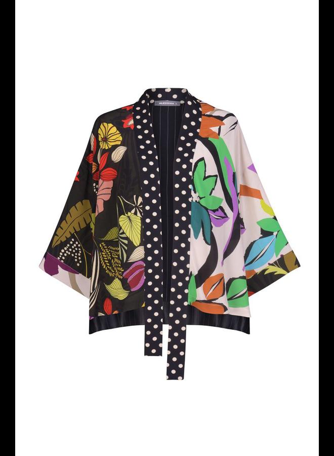 Alembika Floral Print Kimono