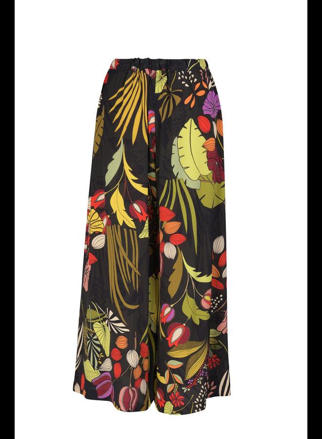 Alembika Floral Wide Leg Pant
