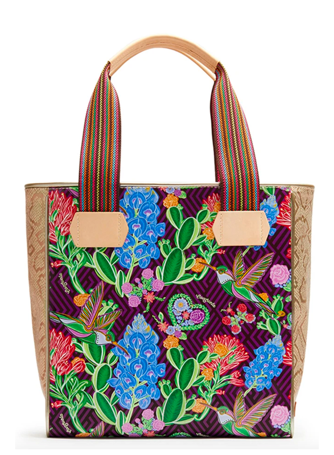 Consuela Classic Tote In Ruby