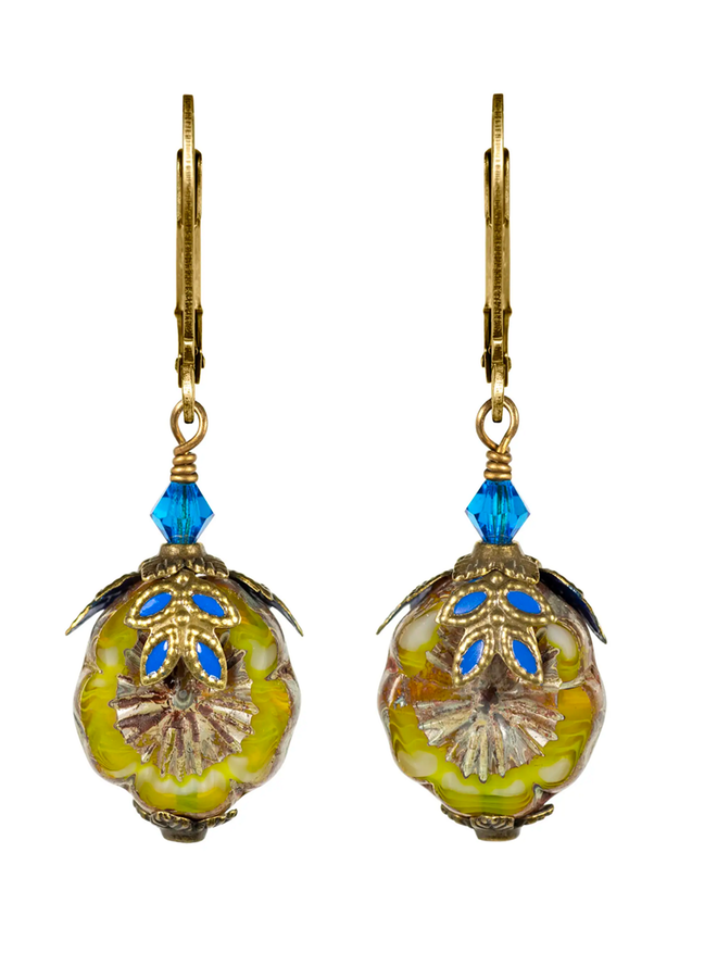Fairyland Hula Girl Earrings