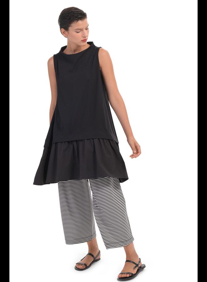 Alembika Jersey Stripe Straight Leg Pant