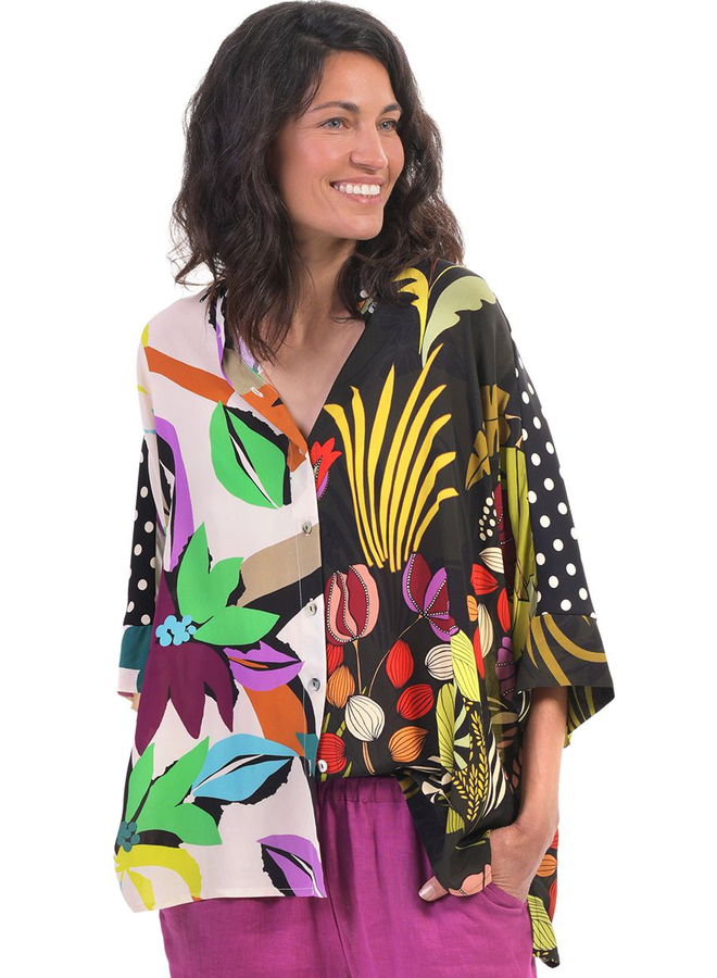 Alembika Floral Print Shirt