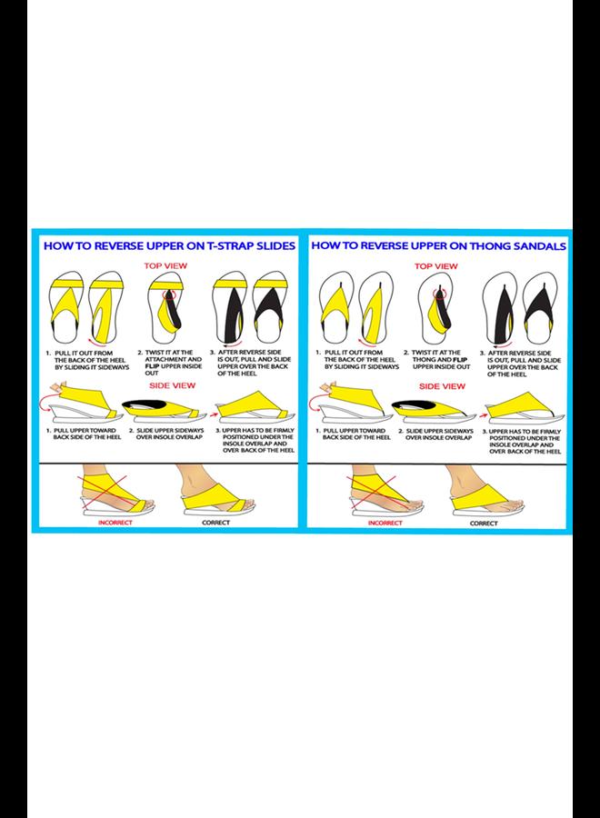 Reversible Mila Strappy Sandal