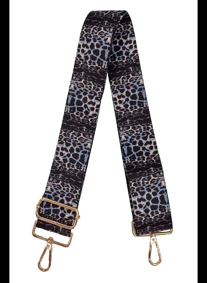 Ahdorned Purse Strap Cheetah