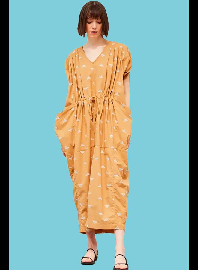Drawstring Pocket Dress