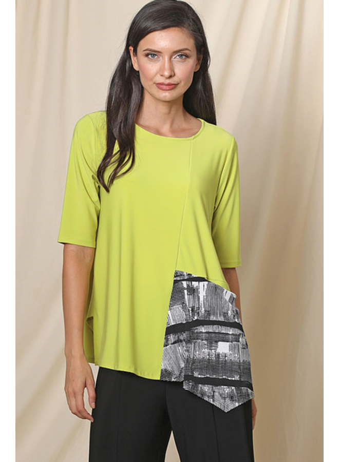 Chalet Jimena Tunic In Citron
