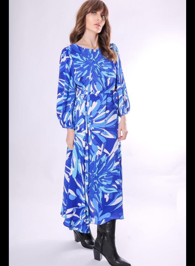 Midi Willow Dress In Blue