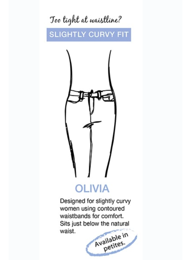 French Dresssing Olivia Slim Ankle Pant In Khaki