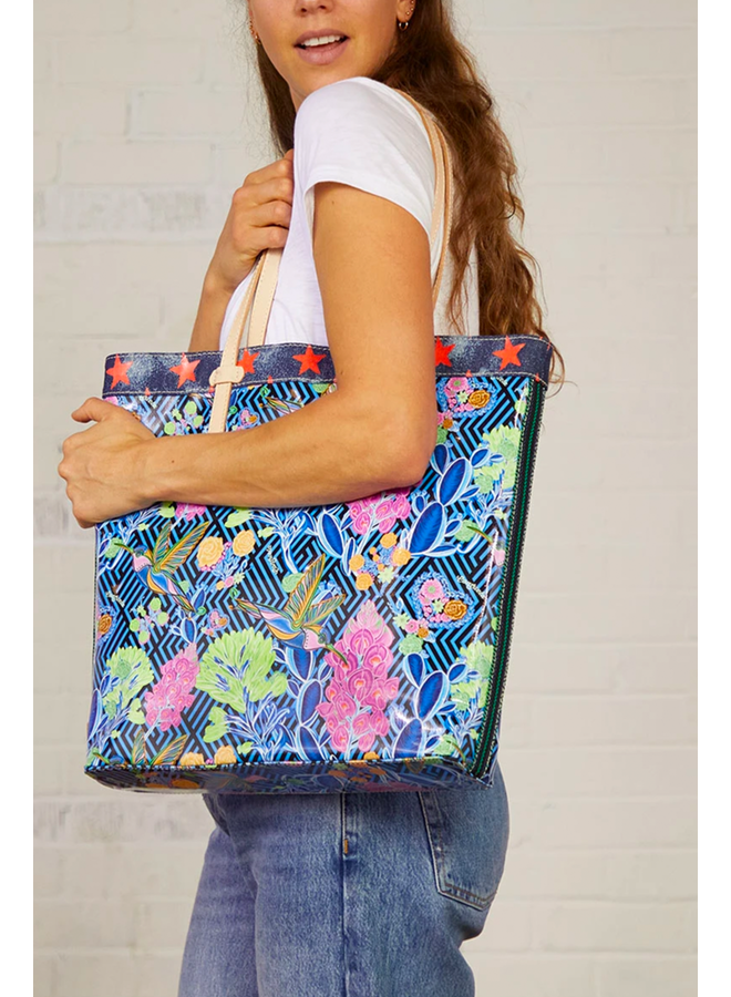 Consuela Slim Tote In Jewel