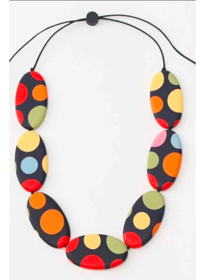 Polka Dot Lena Necklace