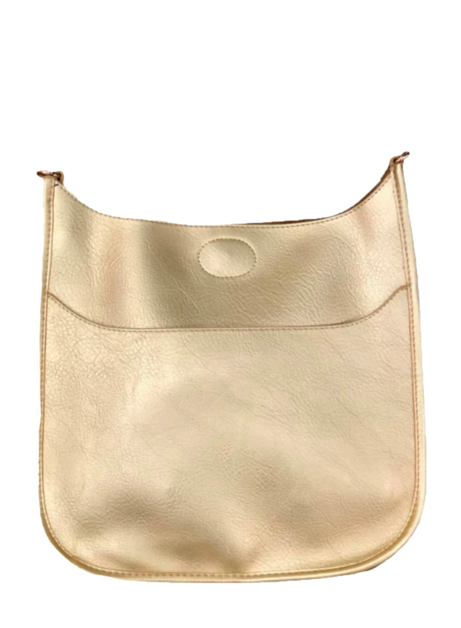 Ahdorned Classic Bag In Gold