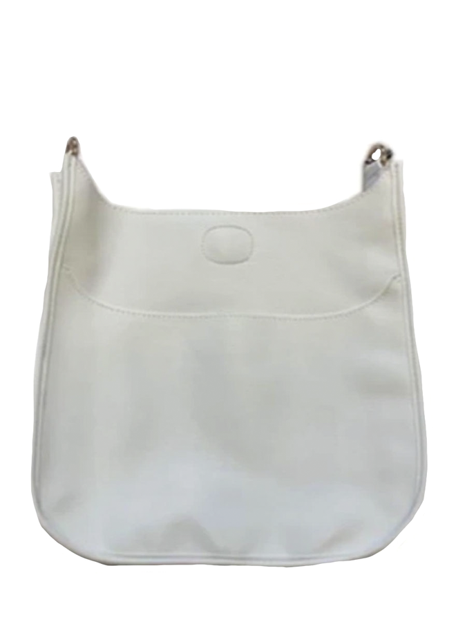 Ahdorned Classic Bag In White