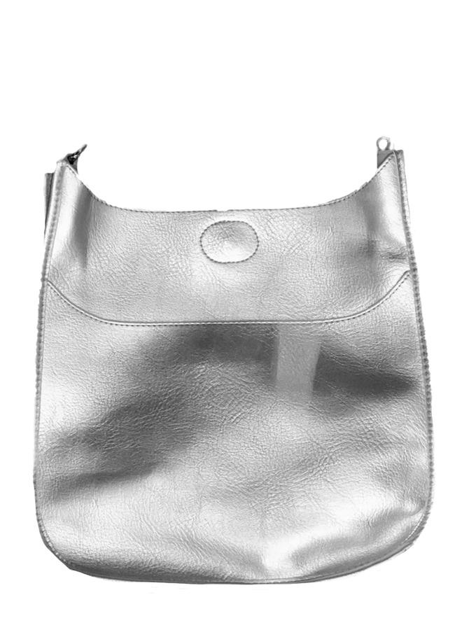 Ahdorned Classic Bag In Silver