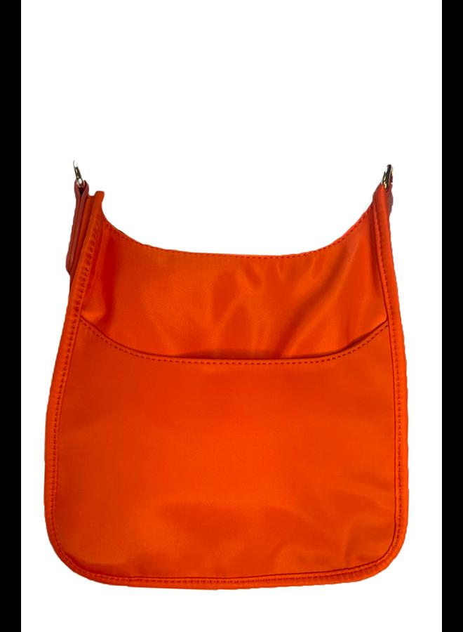 Ahdorned Mini Neoprene Bag In Orange