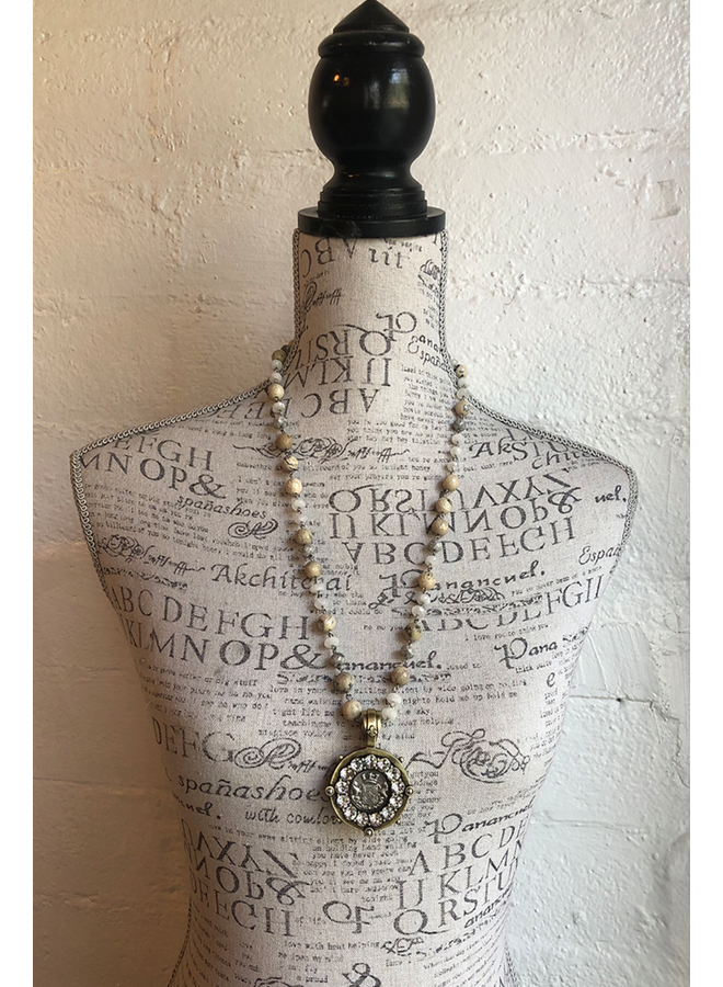 French Kande Lune Mix Necklace