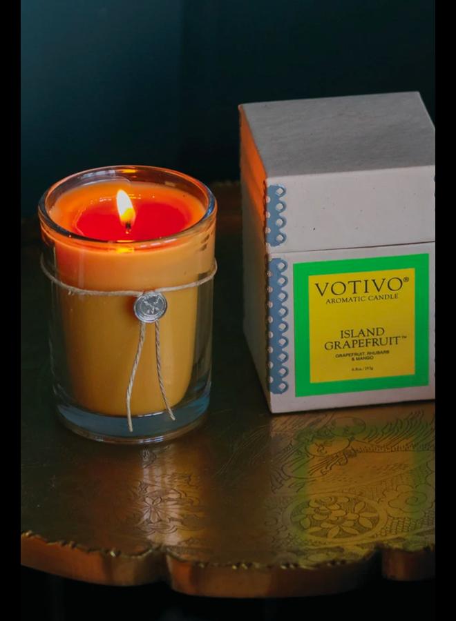 Votivo Island Grapefruit Candle