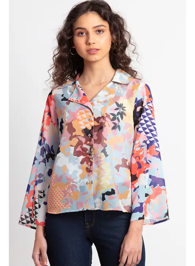 Cheryl Camo Shirt