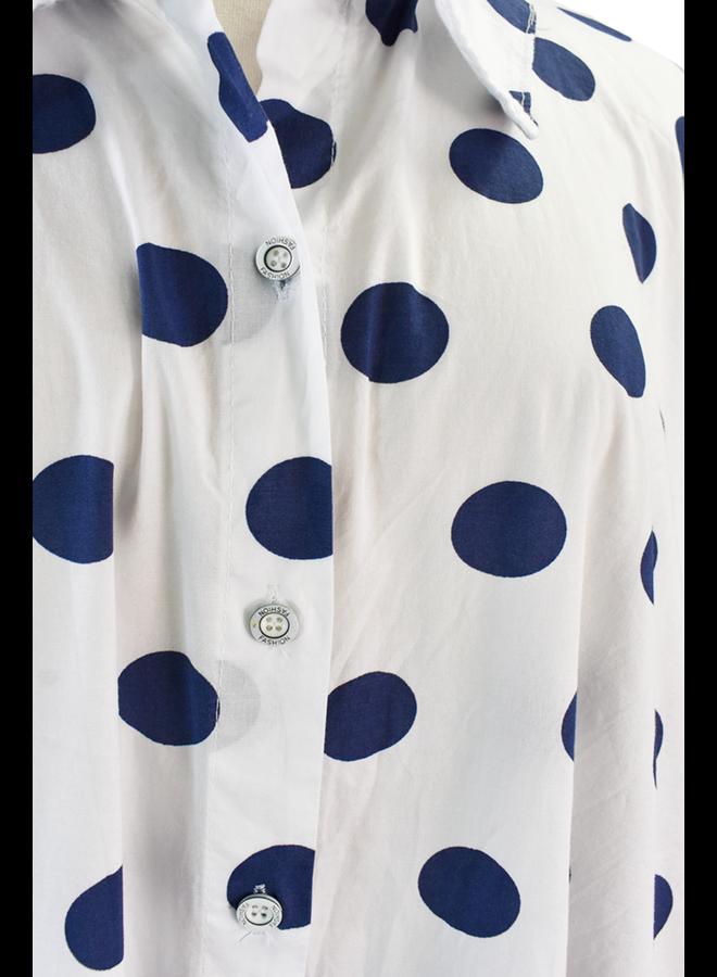 Acuarela Cotton Dot Dress